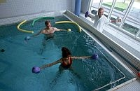 Unterwassergymnastik